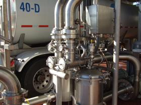 Tanker Unloading Air Instrumentation