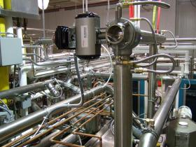 Jacketed Ball Valve and Distribution Piping