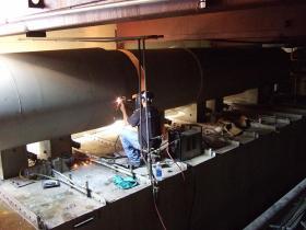 Exhaust Ducting Demolition