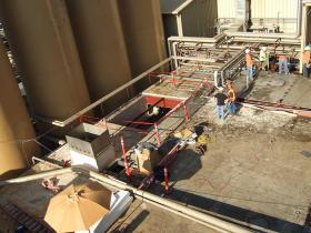 Roof Penetration and Repair
