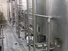 Jacketed Mix Day Tank