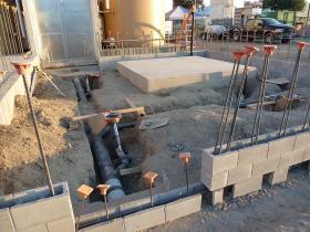 Underground Plumbing Installation