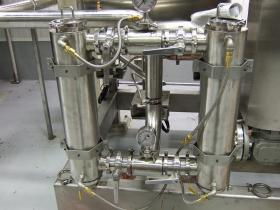 Jacketed Duplex Strainer Assembly