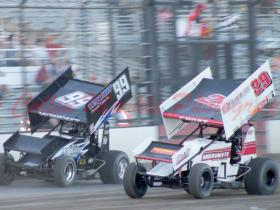 Intense Heat race action at Tulare