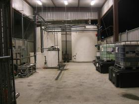 Full-scale Industrial Waste Water System Installation