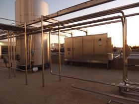 Hazardous product containment area control panel