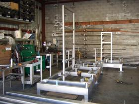 Stainless Steel Frame Assemblies