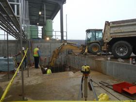 Underground Waste Water Pumping Vault
