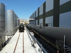 Rail Unloading System