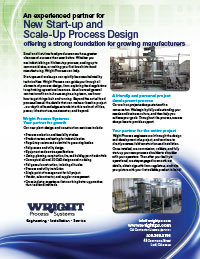Start-up & Scale-up Process Design